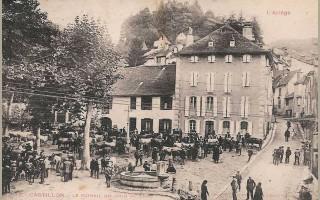 place du Larrech 1900